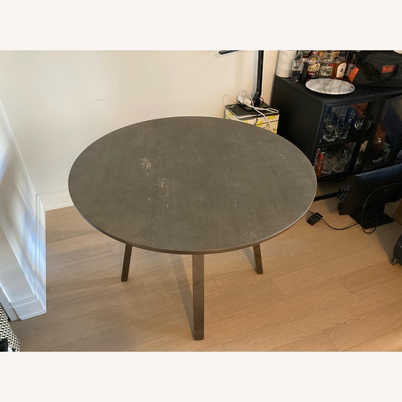 Crate & Barrel Circular Dinning Table - image-2