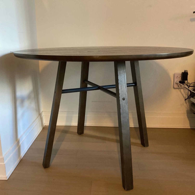 Crate & Barrel Circular Dinning Table - image-1