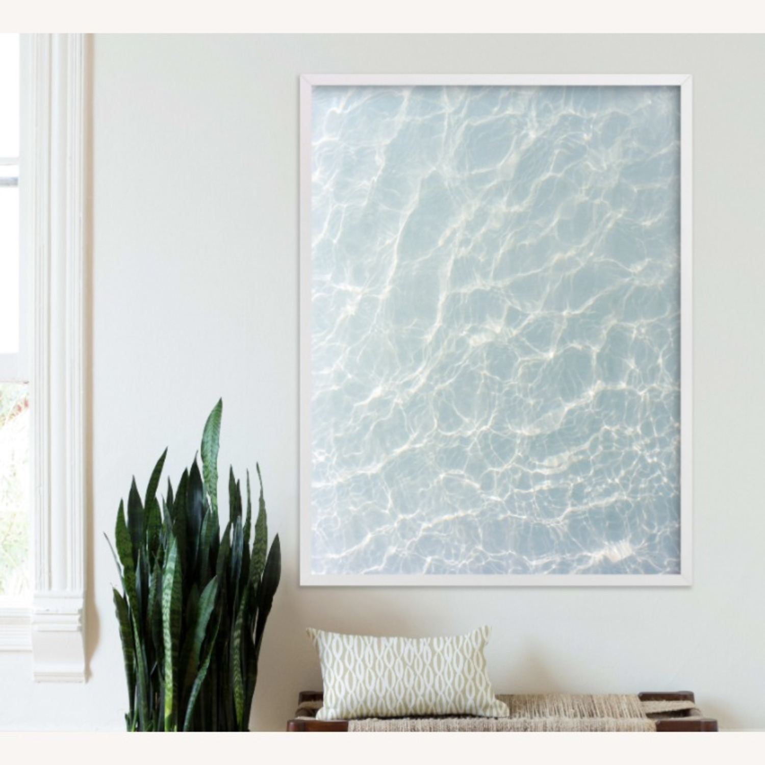 Art Print Waves Pattern - image-1