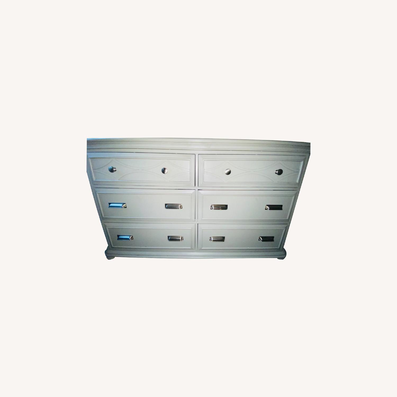 Bob's Discount Furniture Mystic Gray Dresser - image-0