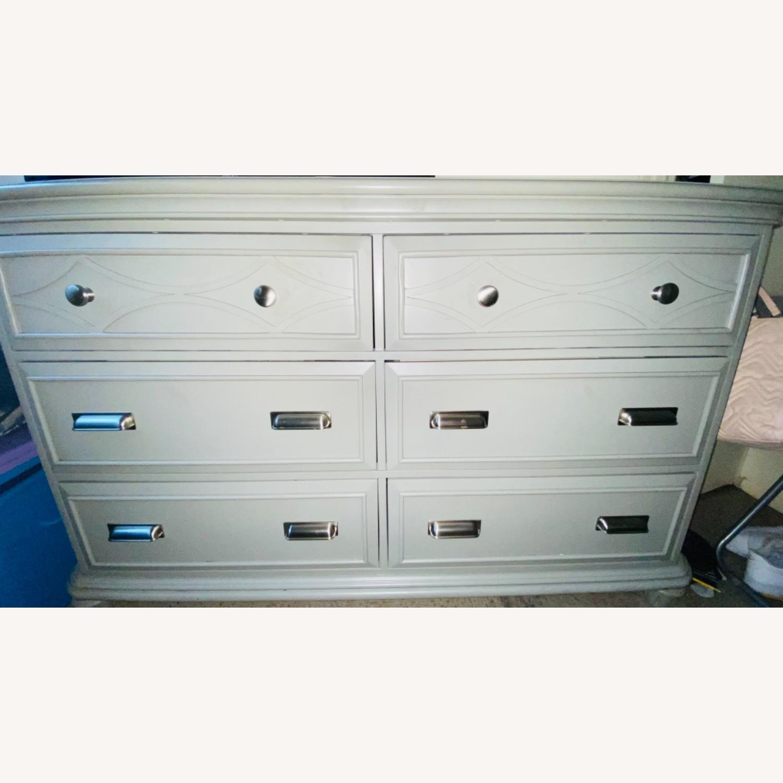 Bob's Discount Furniture Mystic Gray Dresser - image-2