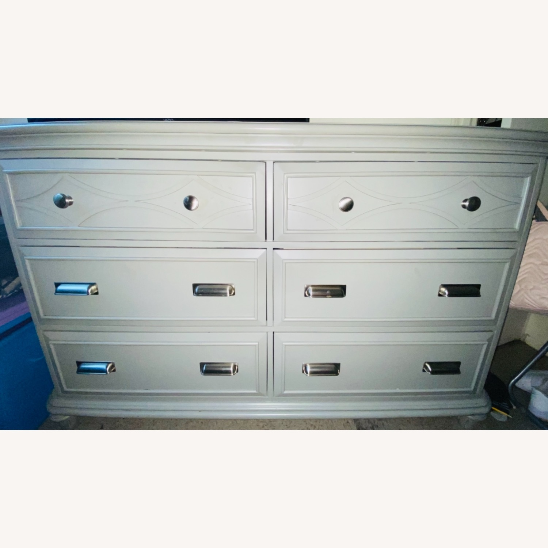 Bob's Discount Furniture Mystic Gray Dresser - image-1