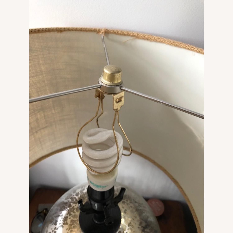 Target Threshold Mercury Glass Globe Table Lamp Aptdeco