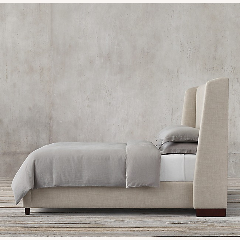 Restoration Hardware Belmont Fabric King Bed - image-5