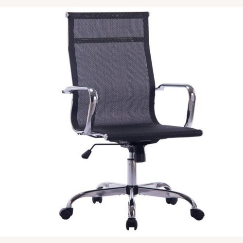 Used Furniture USA Adjustable Mesh Office Work Chair for sale on AptDeco