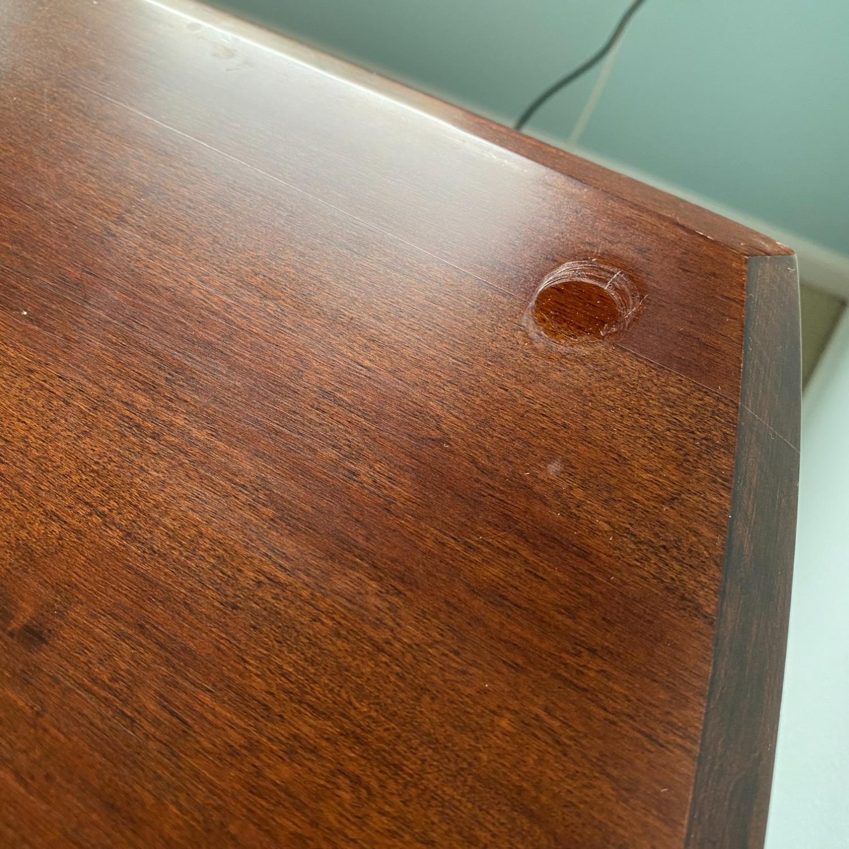 Ethan Allen Home Office Desk Brown Wood - image-15