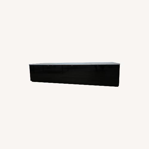Used Ligne Roset Media Storage Black Laquer for sale on AptDeco