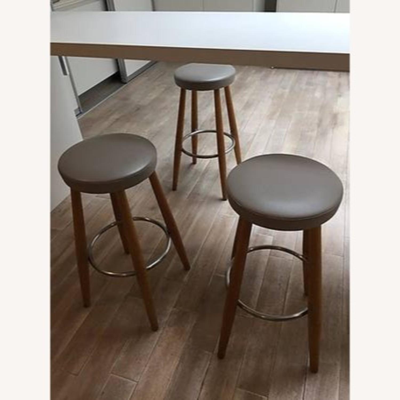 Hans Wegner Bar Stool Set - image-4