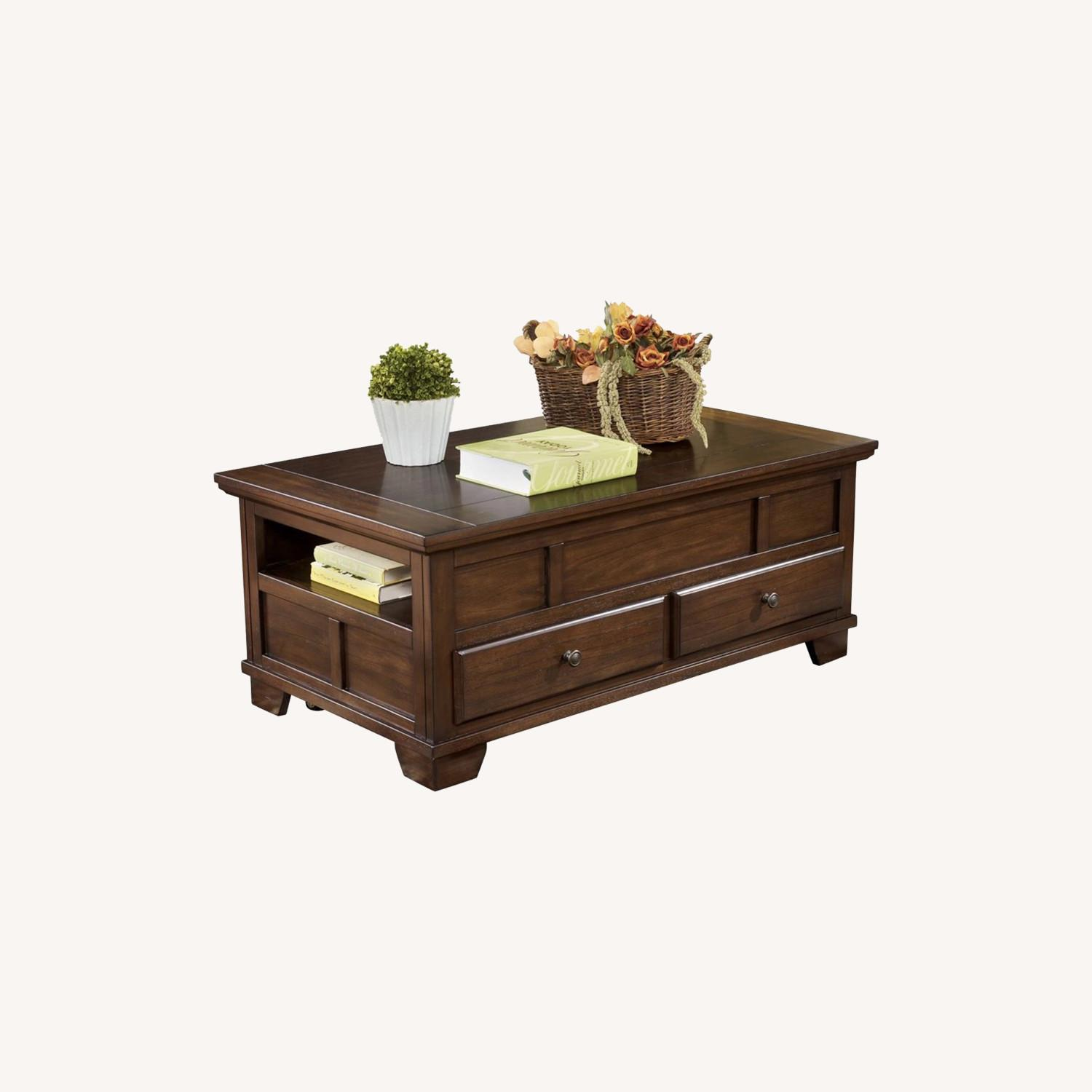 Ashley Furniture Lift Top Coffee Table With Storage Aptdeco