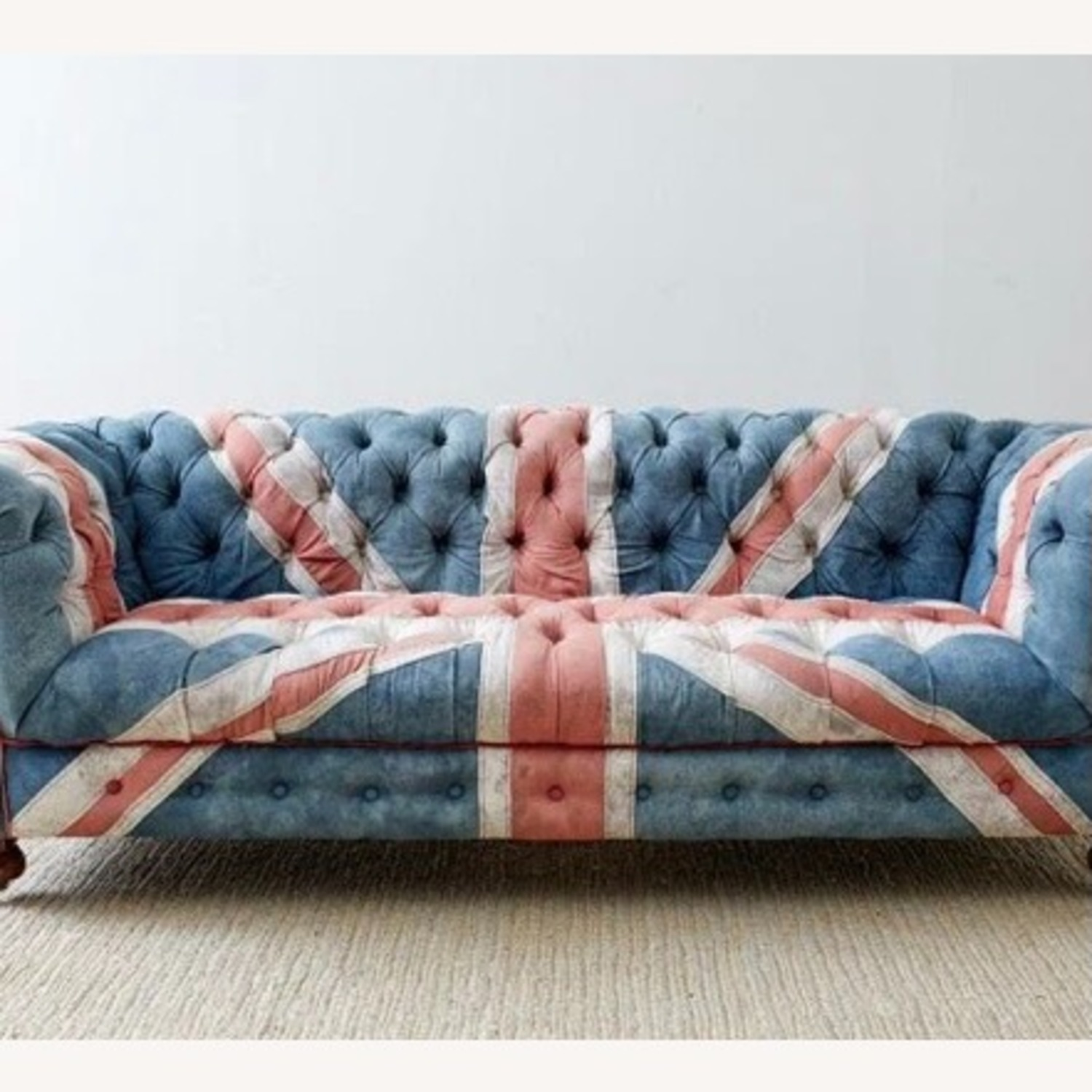 Timothy Oulton Design Union Jack Chesterfield Sofa - image-3