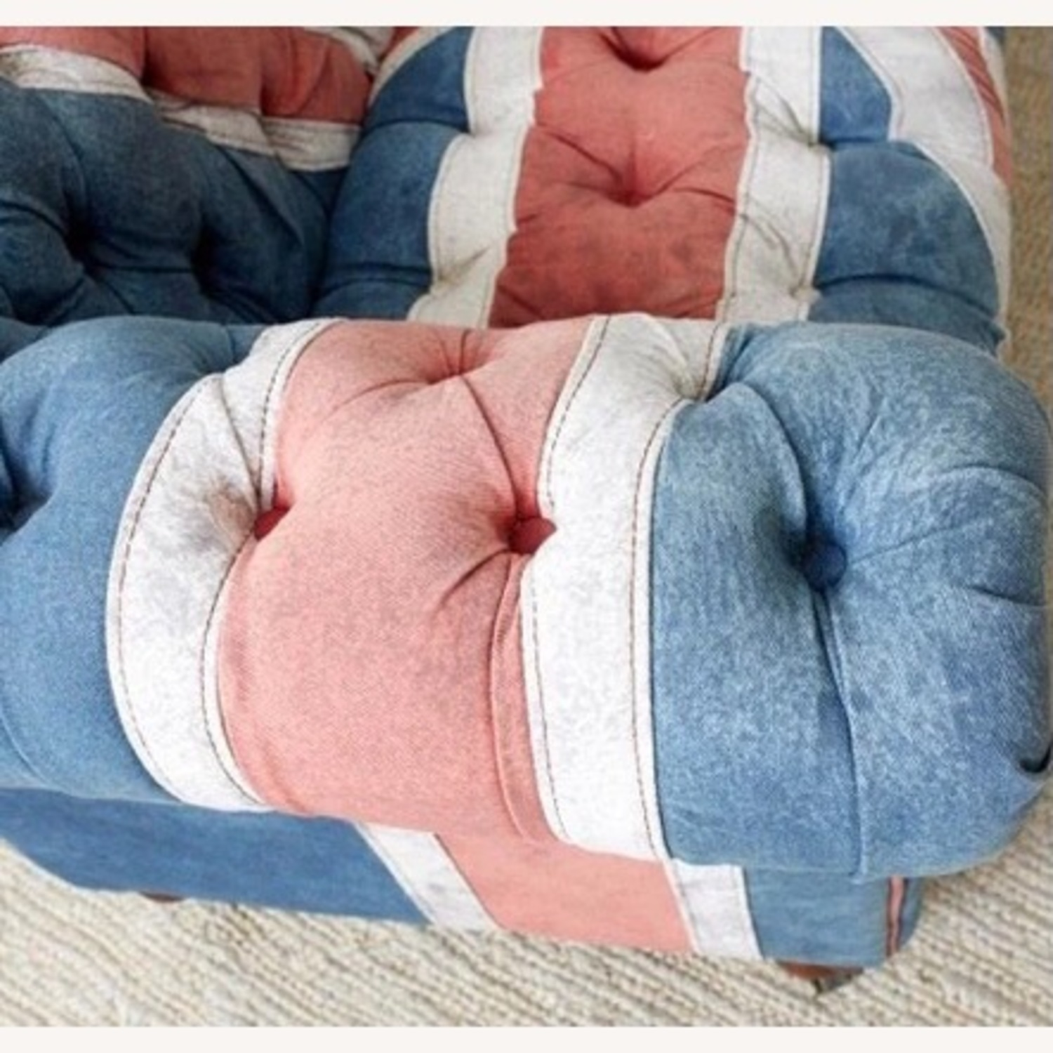 Timothy Oulton Design Union Jack Chesterfield Sofa - image-5
