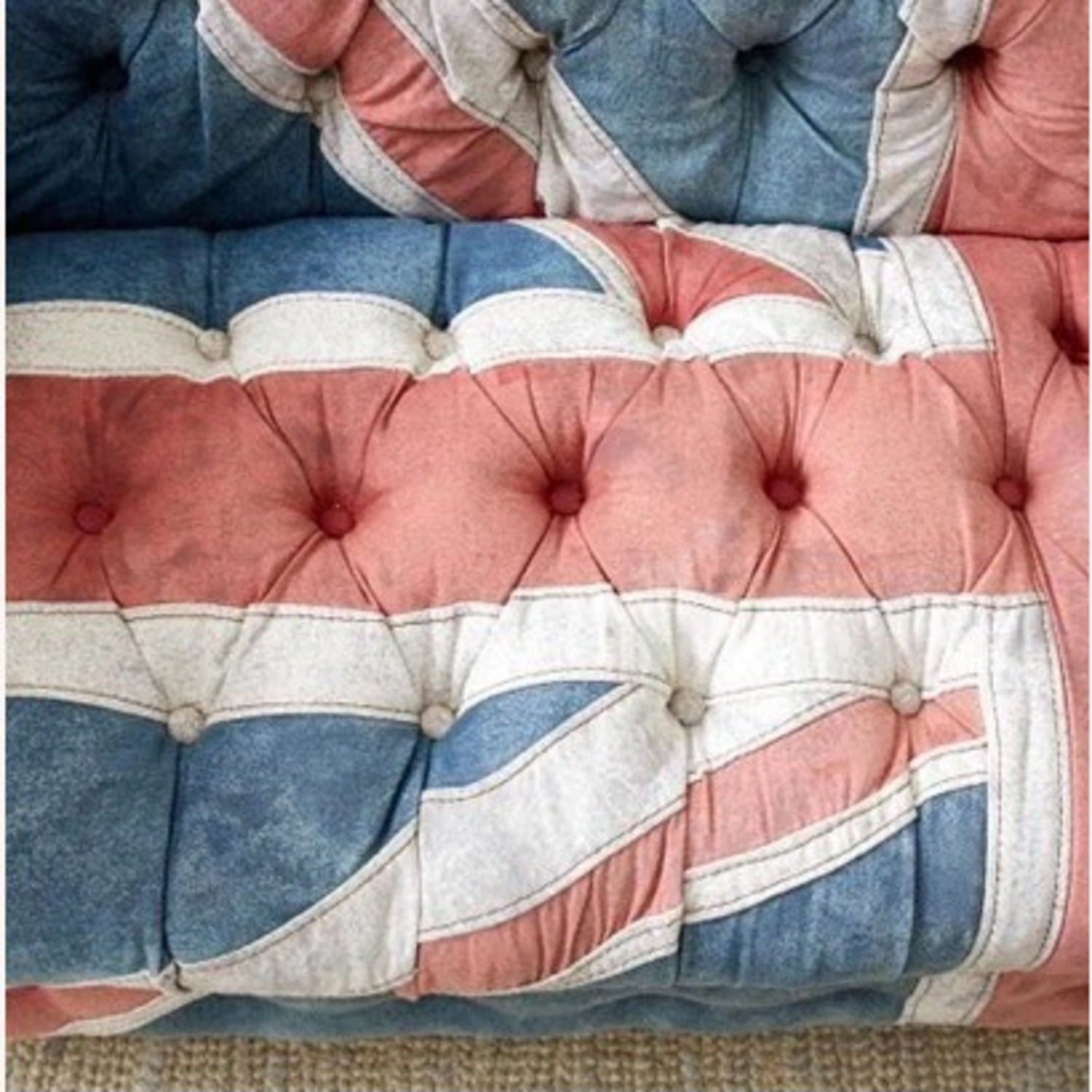 Timothy Oulton Design Union Jack Chesterfield Sofa - image-6