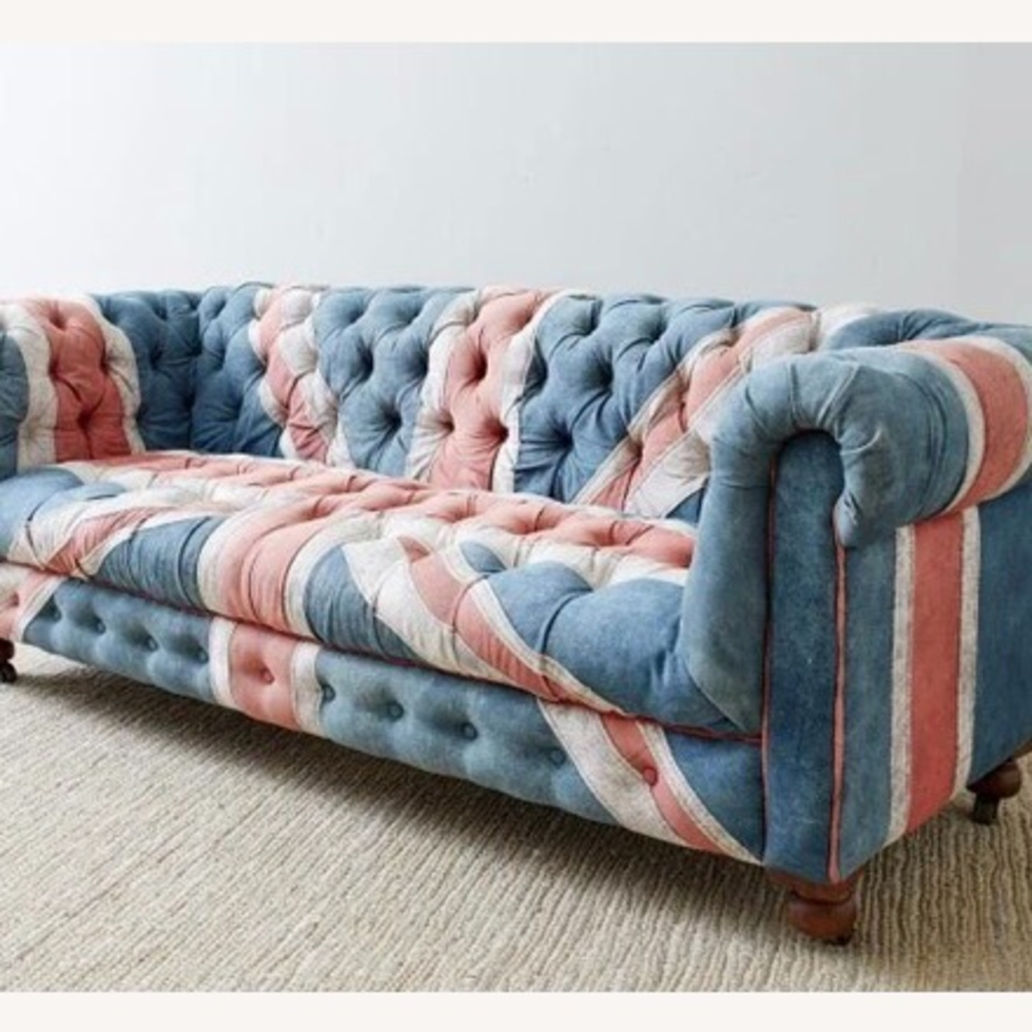 Timothy Oulton Design Union Jack Chesterfield Sofa - image-2
