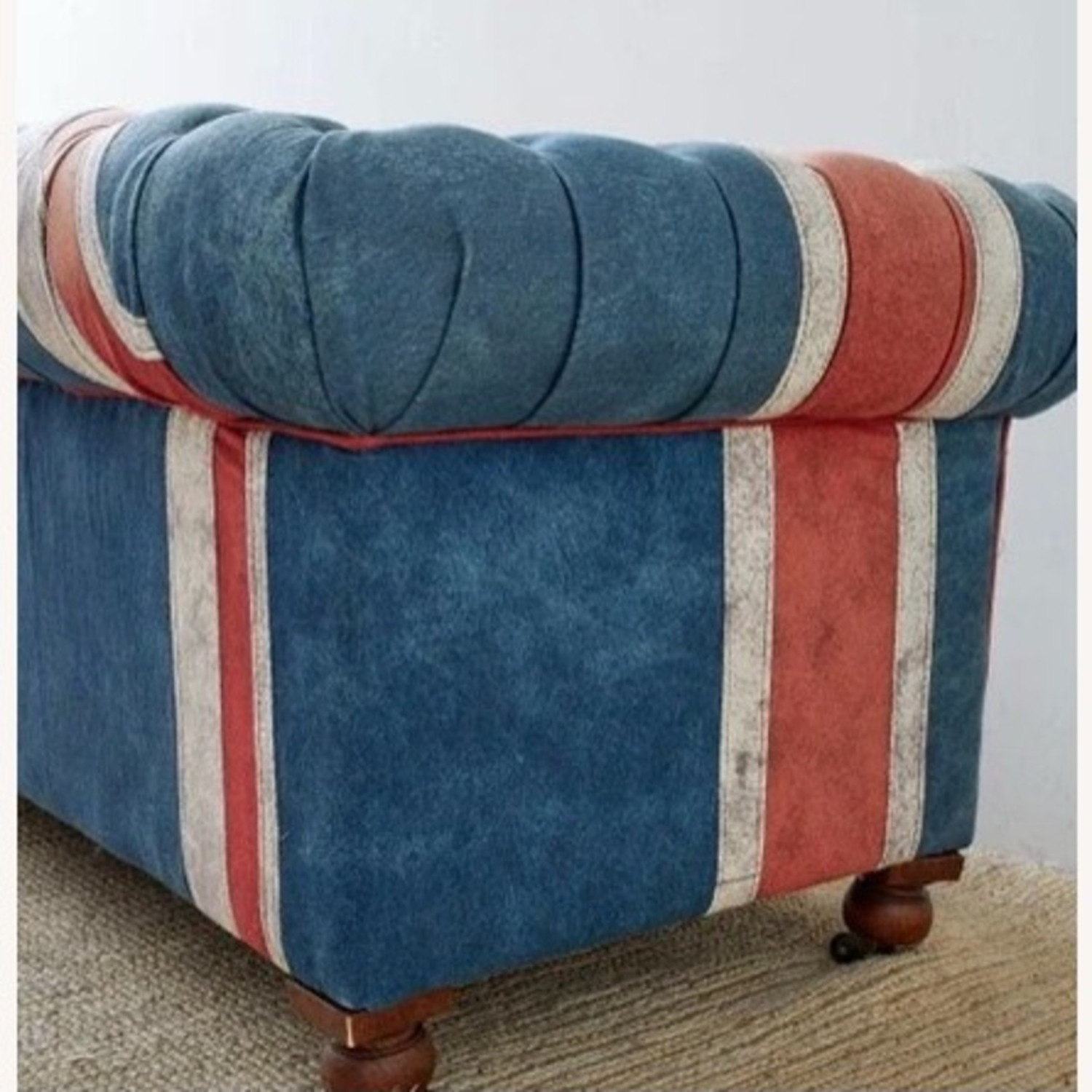 Timothy Oulton Design Union Jack Chesterfield Sofa - image-12