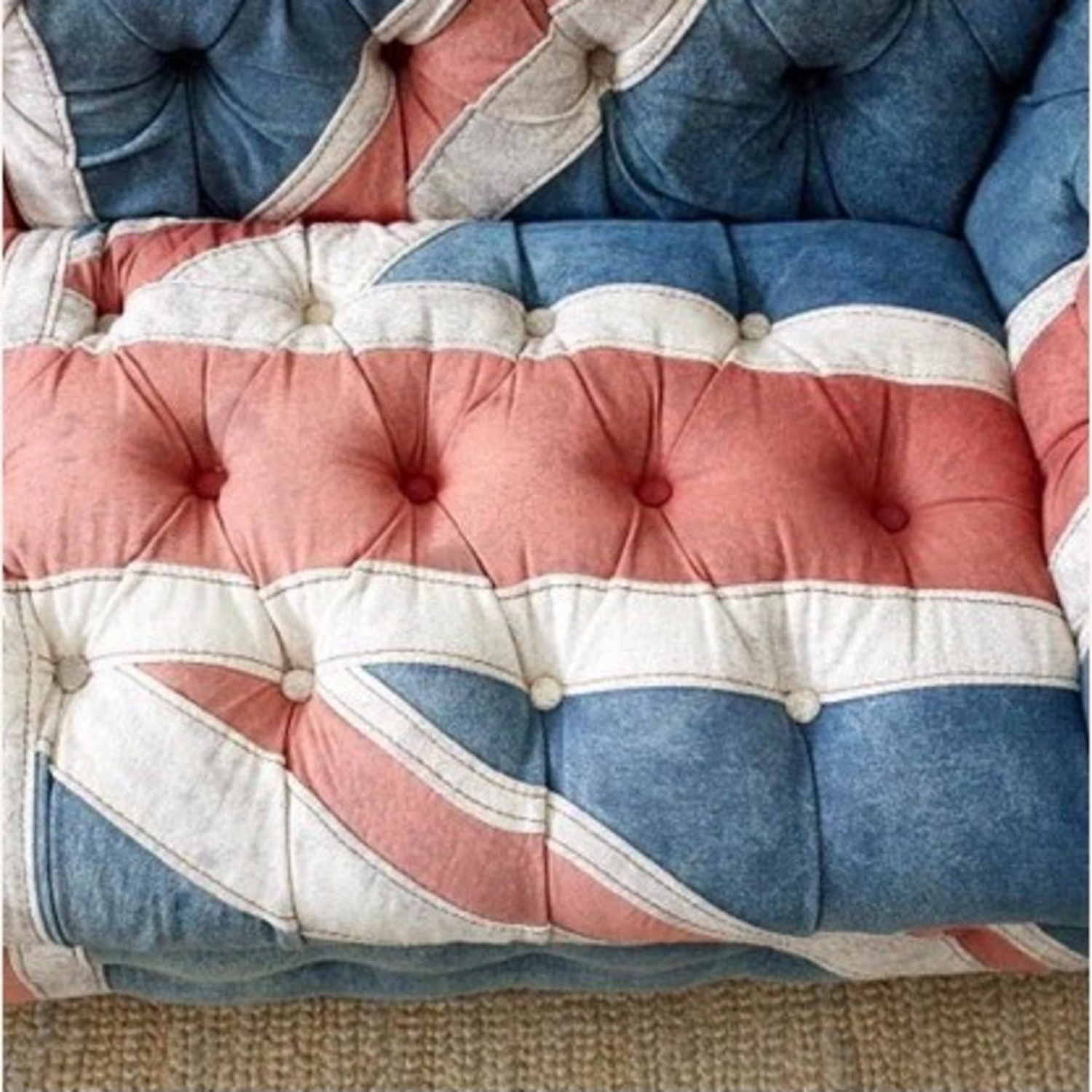Timothy Oulton Design Union Jack Chesterfield Sofa - image-8