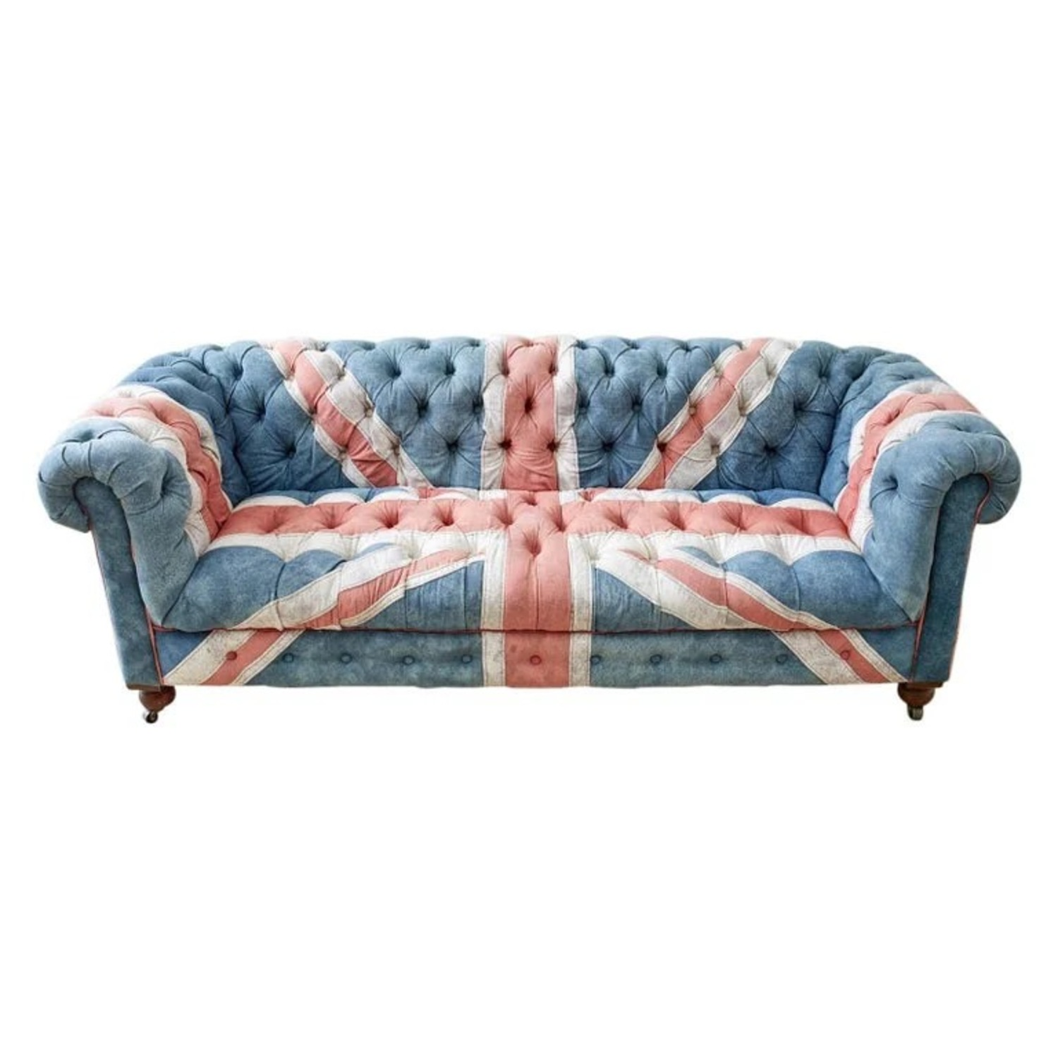 Timothy Oulton Design Union Jack Chesterfield Sofa - image-1