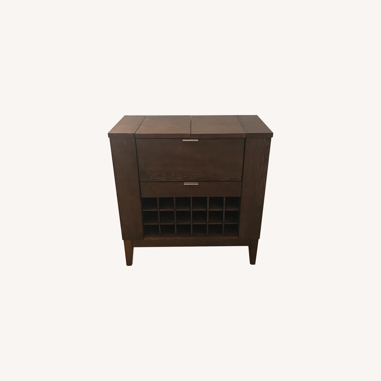 Crate & Barrel Parker Spirits Bar - image-0
