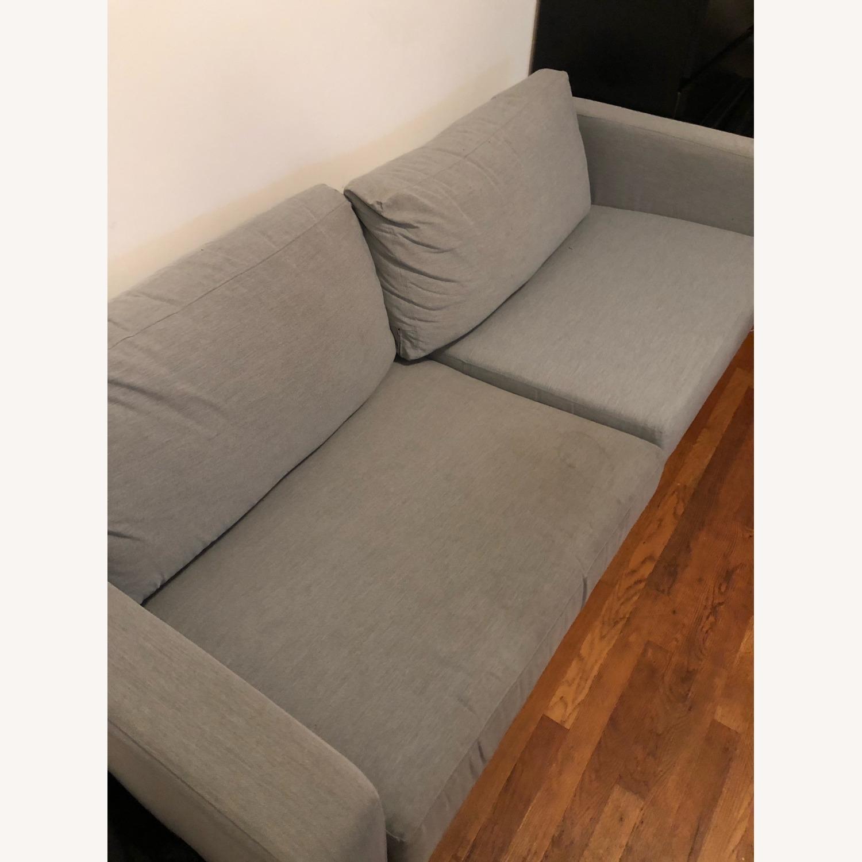 IKEA KARLSTAD Blue Fabric Sofa - image-2