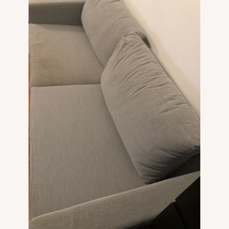 IKEA KARLSTAD Blue Fabric Sofa - image-3
