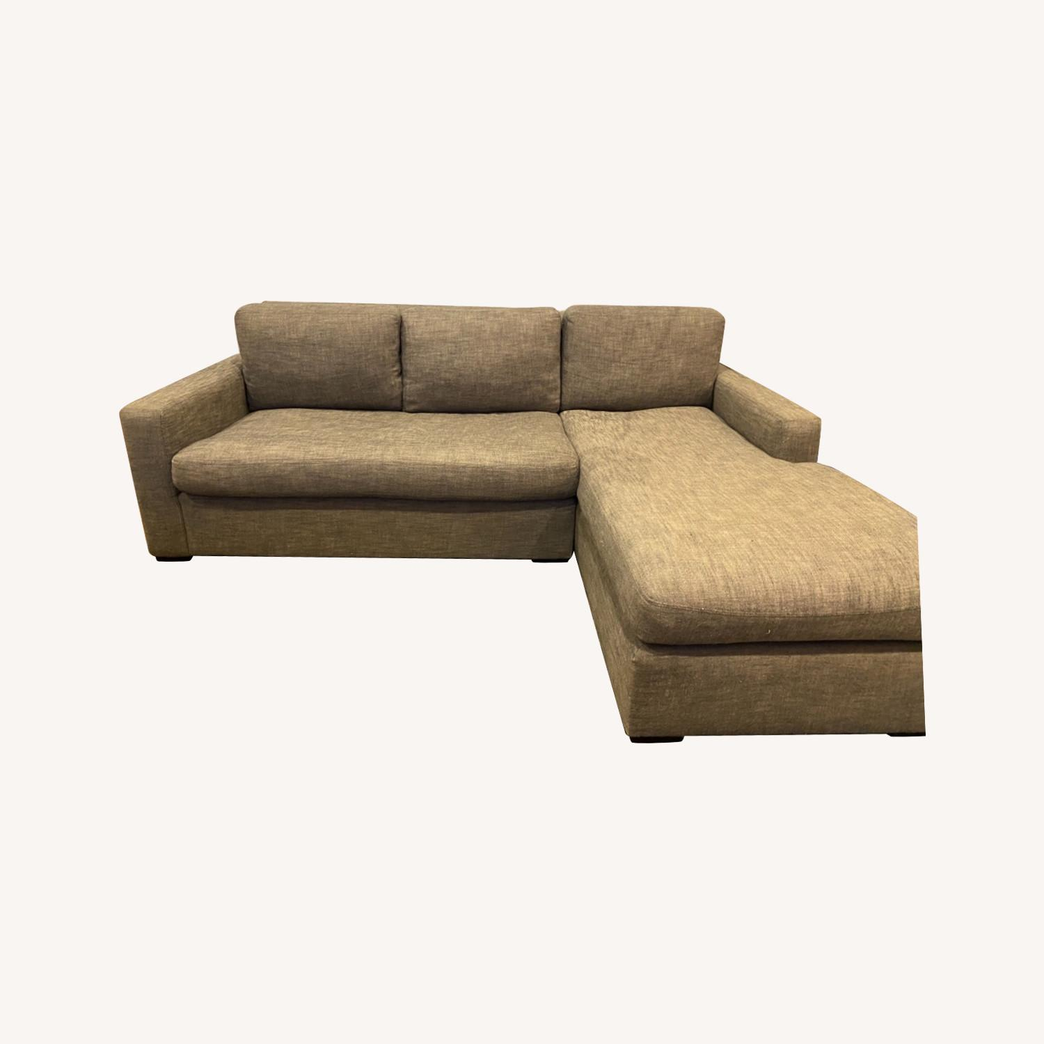 Restoration Hardware Maxwell Right Arm Chaise - image-0