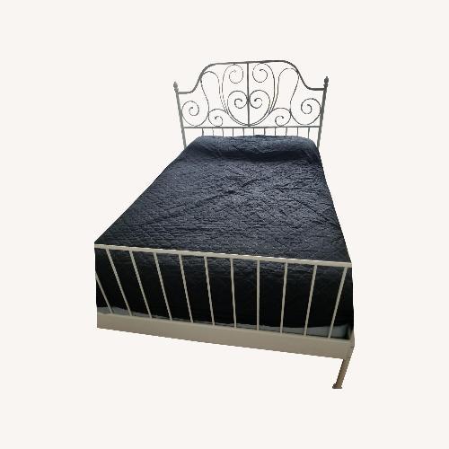 Ikea Malm Full Size Bed Frame 2 Drawers Aptdeco