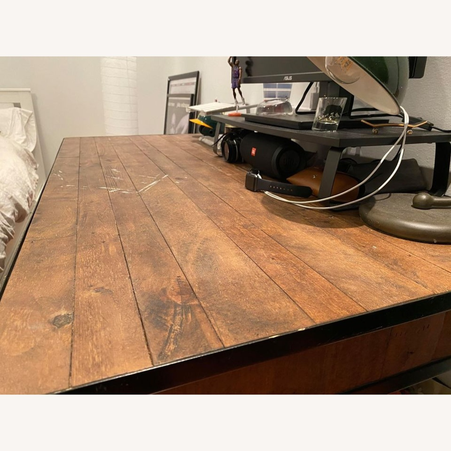 Pottery Barn Juno Reclaimed Pine Desk - image-2