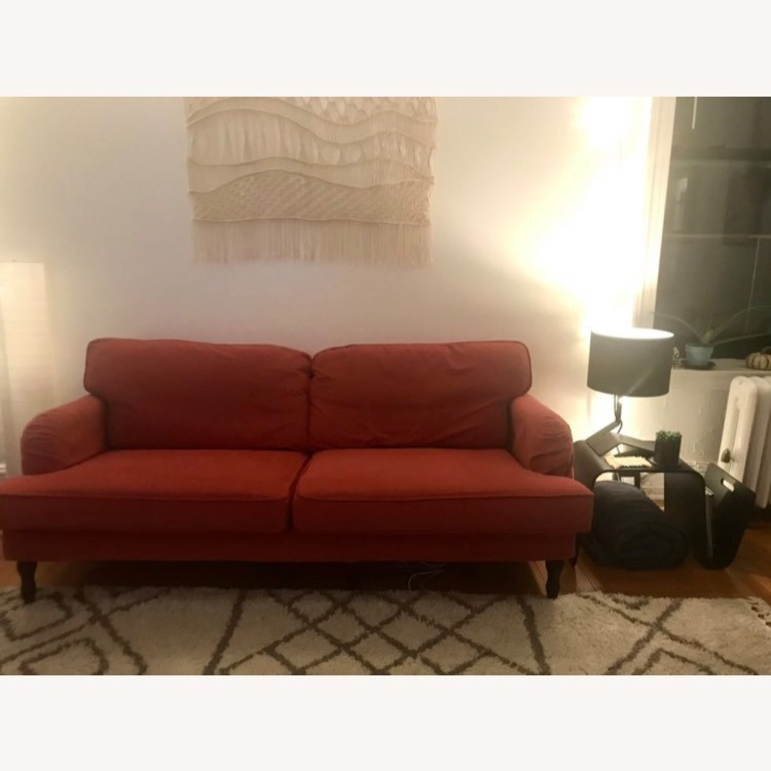 IKEA Red Stocksund Couch - image-2