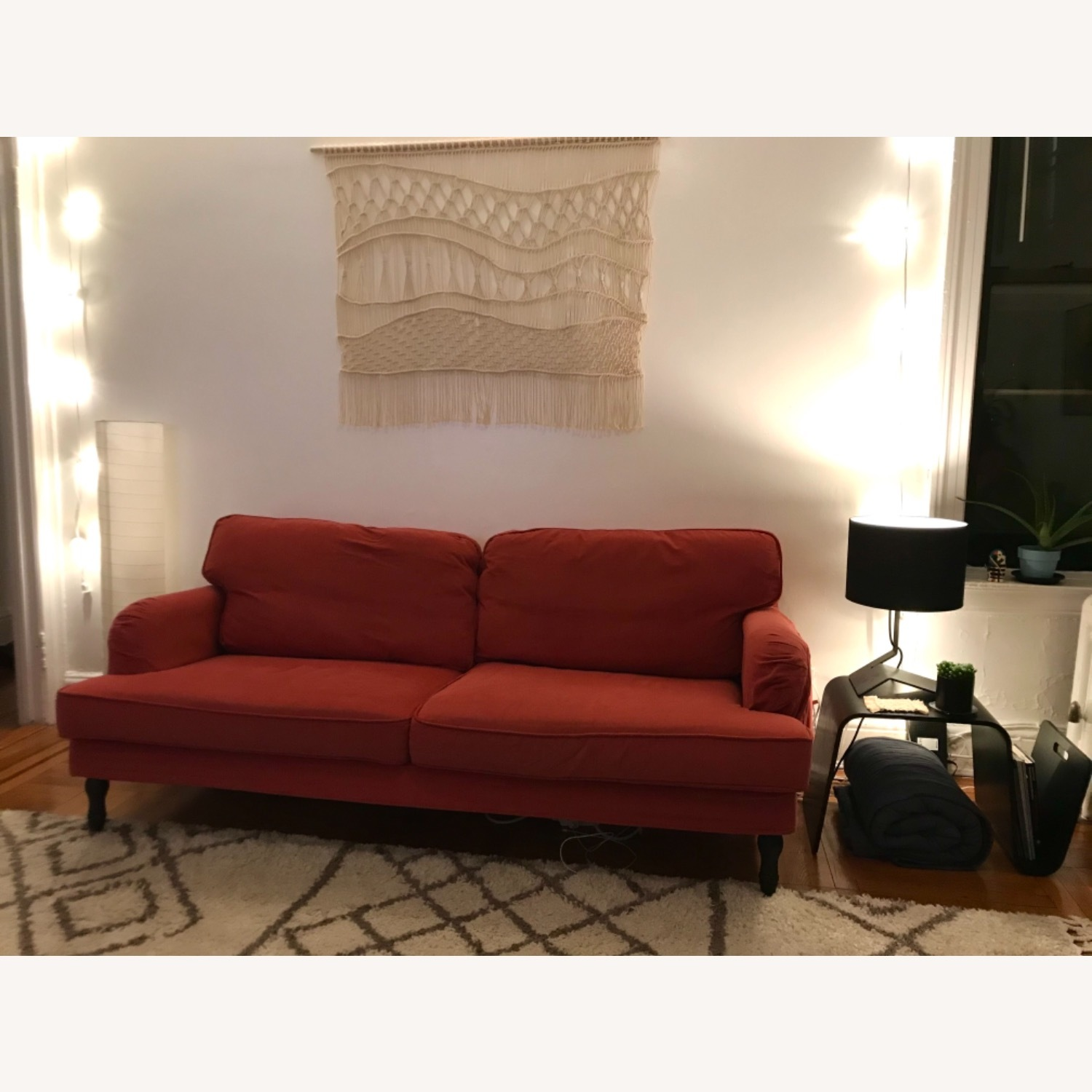IKEA Red Stocksund Couch - image-4