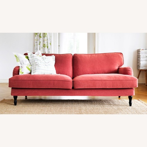 Used IKEA Red Stocksund Couch for sale on AptDeco