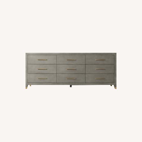 Used Restoration Hardware Graydon Shagreen Dresser for sale on AptDeco