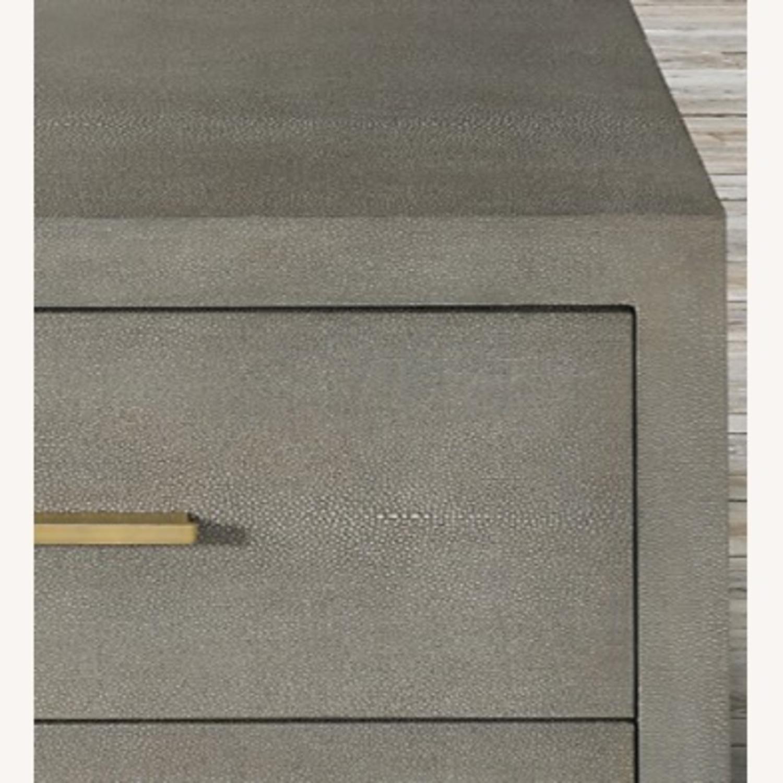 Restoration Hardware Graydon Shagreen Dresser - image-2