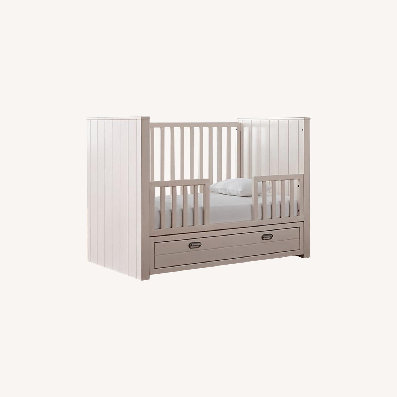 Restoration Hardware Crib with Custom Trundle - image-0