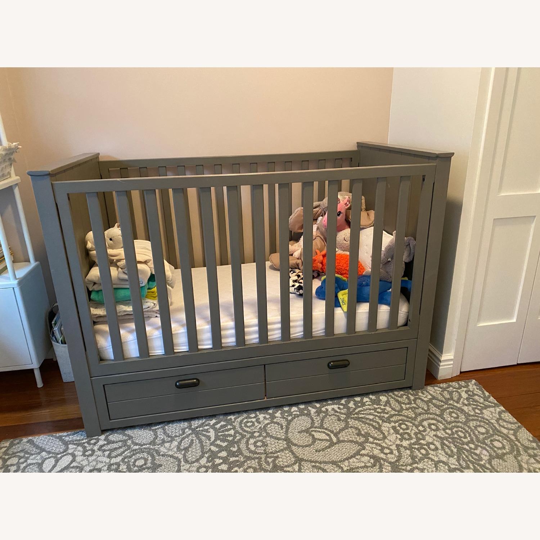 Restoration Hardware Crib with Custom Trundle - image-1