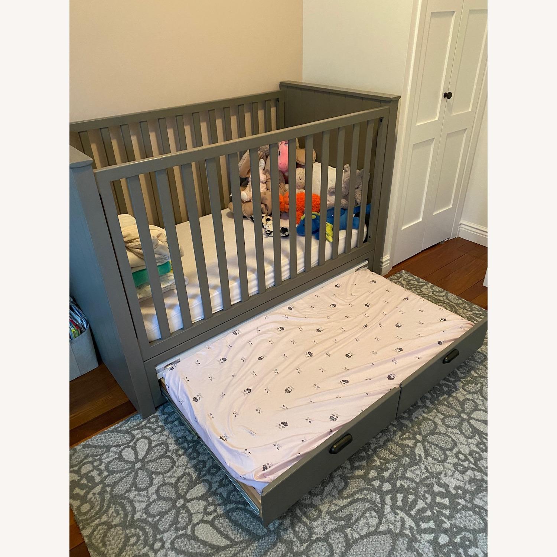 Restoration Hardware Crib with Custom Trundle - image-2