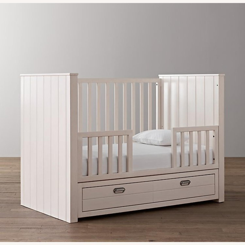 Restoration Hardware Crib with Custom Trundle - image-3