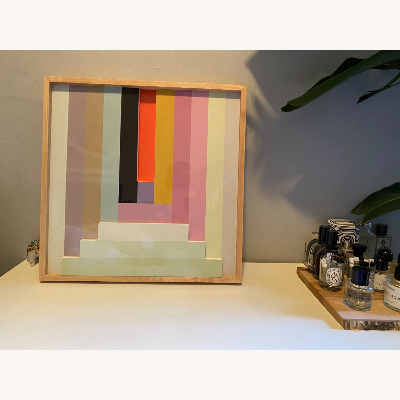 West Elm Colorblock Wall Art - image-2