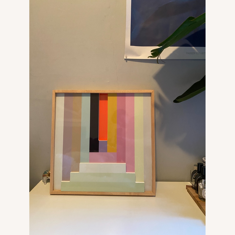West Elm Colorblock Wall Art - image-1