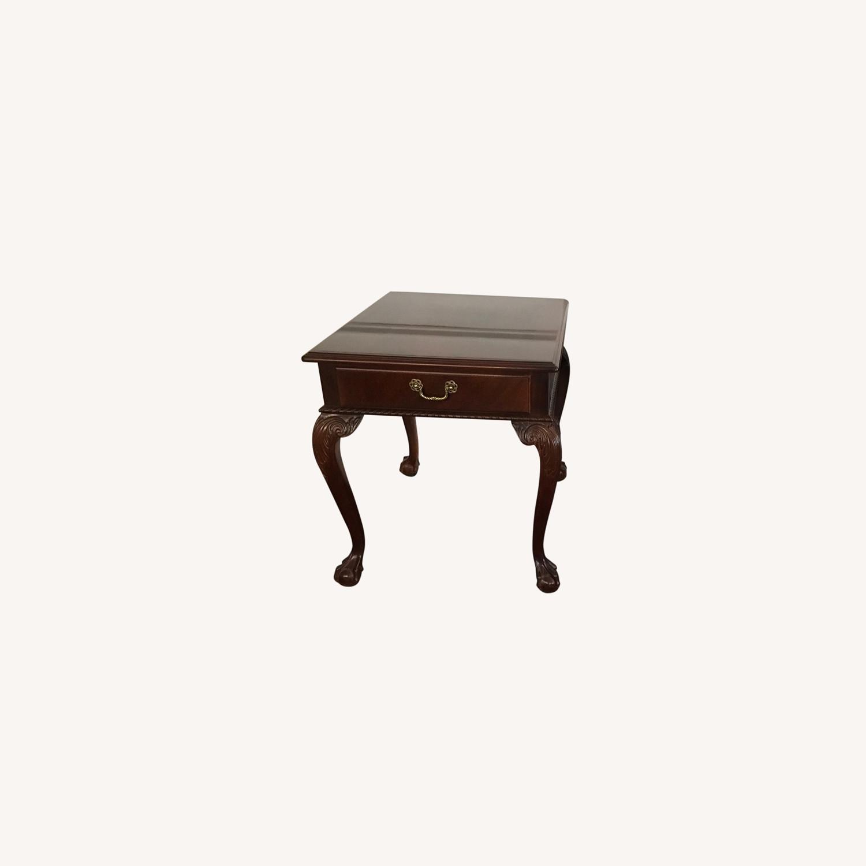 Ethan Allen Mahogany End Tables - image-0