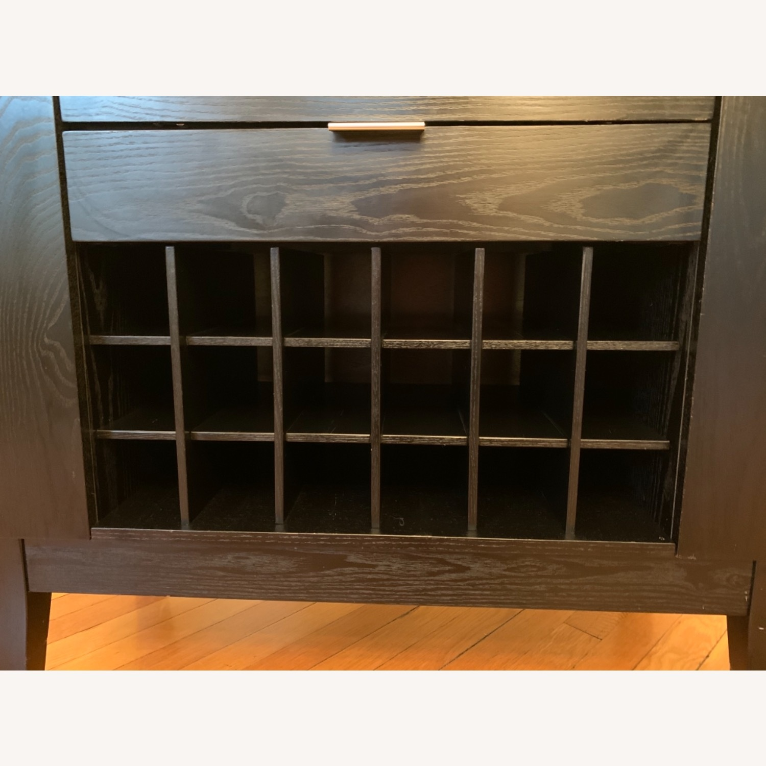 Crate & Barrel Bar & Spirits Cabinet - Espresso - image-5