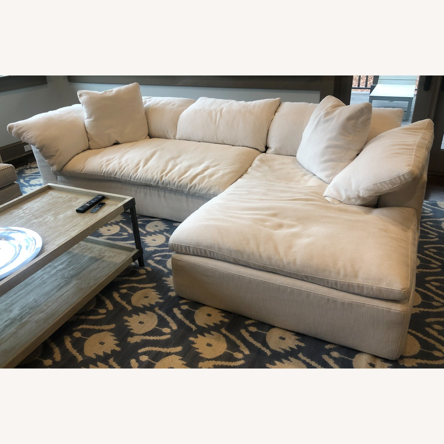 Restoration Hardware Cloud Collection Sectional - image-1