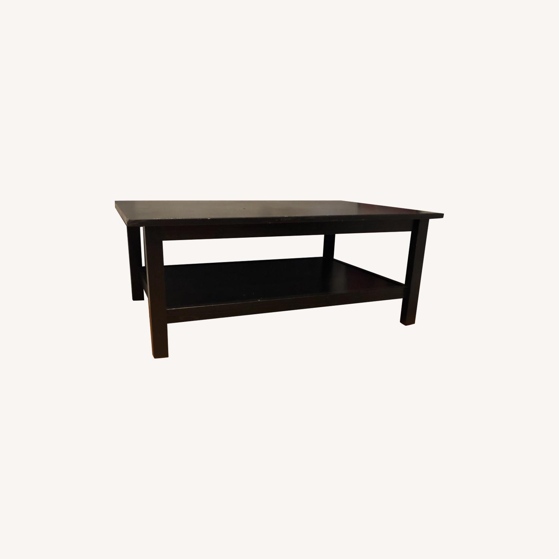 Ikea Lack Coffee Table Black Aptdeco