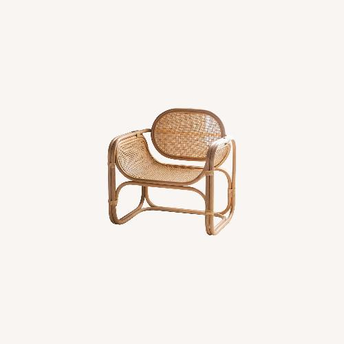 Used Urban Outfitters Woven Accent/lounge Chair for sale on AptDeco