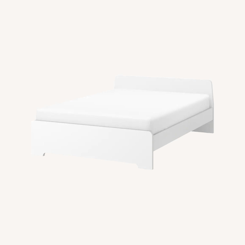 IKEA White Bed Frame - image-0