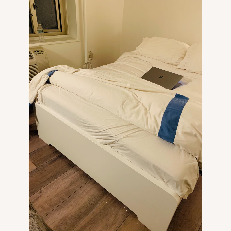 IKEA White Bed Frame - image-3