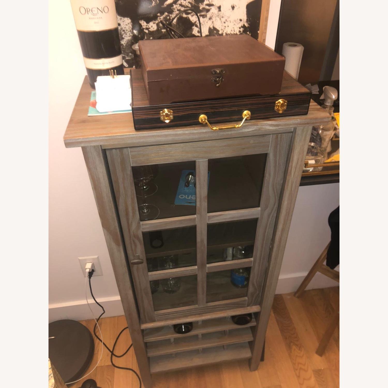 Wayfair Solid Wood Bar/Wine Cabinet - image-2