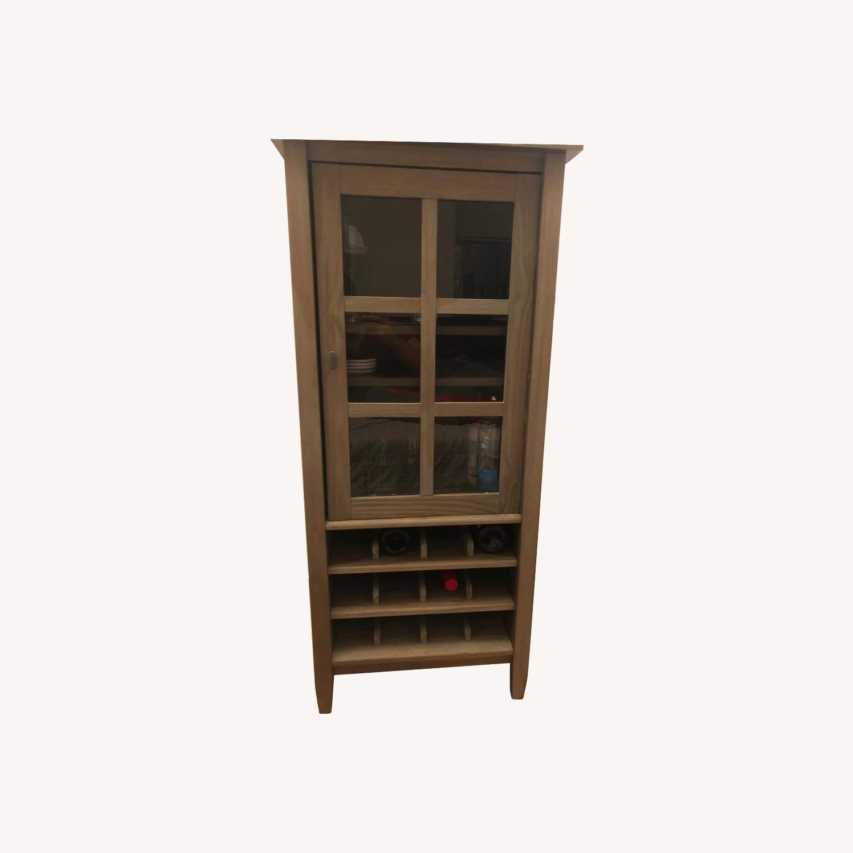 Wayfair Solid Wood Bar/Wine Cabinet - image-0