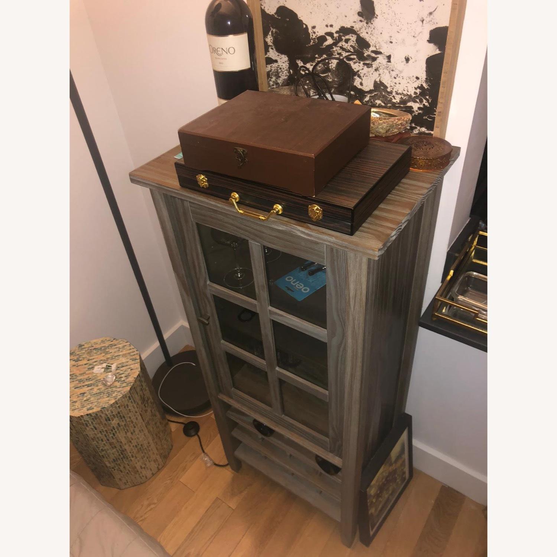 Wayfair Solid Wood Bar/Wine Cabinet - image-3