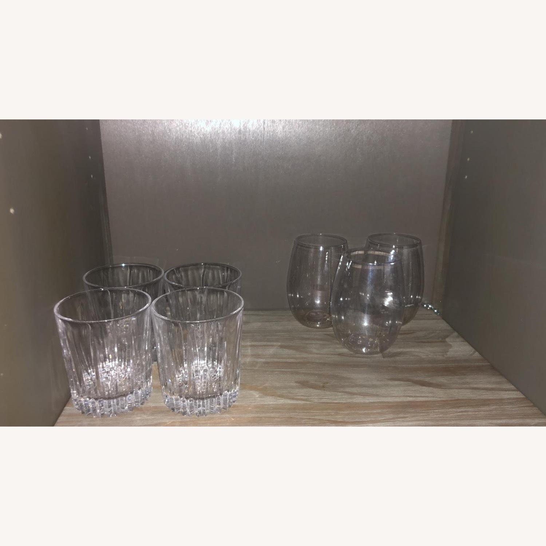Wayfair Solid Wood Bar/Wine Cabinet - image-5