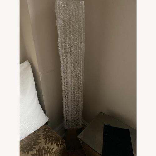 Used Elite Modern Modern Lucite Floor Lamp for sale on AptDeco