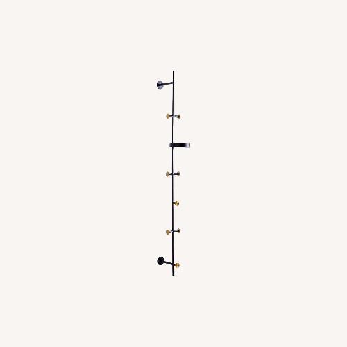 Used West Elm Floating Lines Wall Rack, Vertical for sale on AptDeco